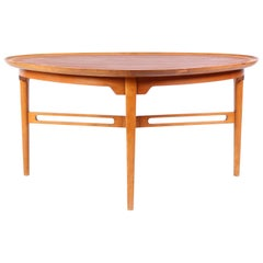 Ferdinand Lundquist Teak and Beech Coffee Table