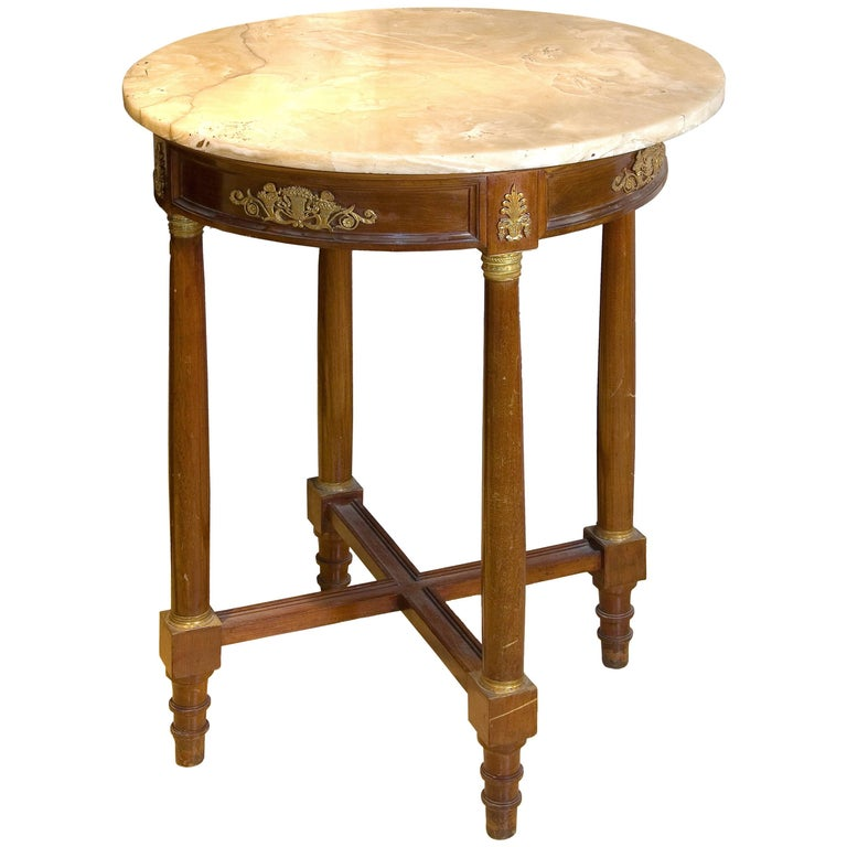 Empire Style Table, 19th Century