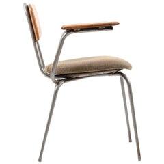 Early 1950s Danish Industrial Chair by Niels Larsen