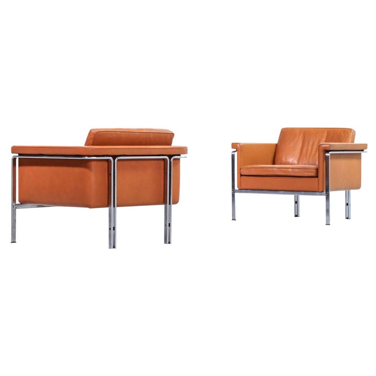 Pair of Horst Brüning Lounge Chairs for Alfred Kill International