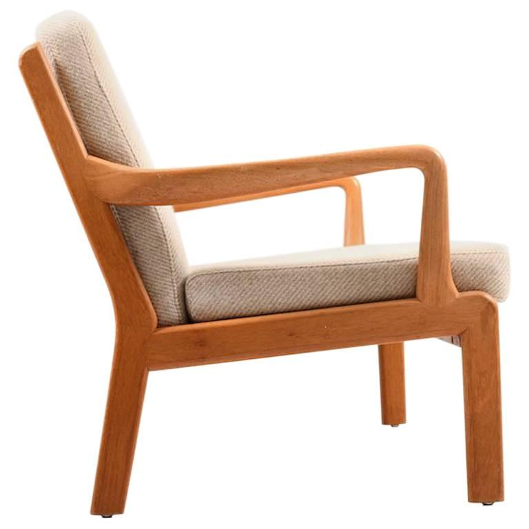 Danish Two-Seat Sofa in Solid Teak For Sale at 1stdibs