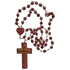 Massive Mazzotti VMA Rare Ceramic Rosary