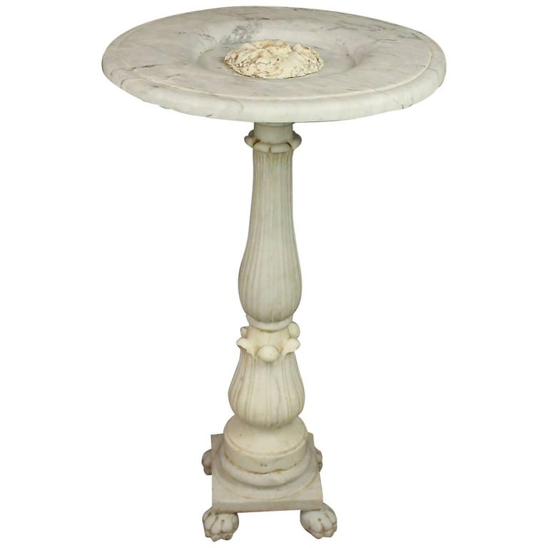 Late 18th Century Marble Fountain For Sale