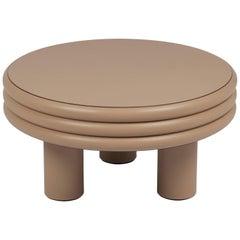 Scala Leather Coffee Table Cappuccino Nappa