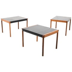 Three Variable Danish Sofa Tables in Rosewood, Made in Denmark Early 1960s