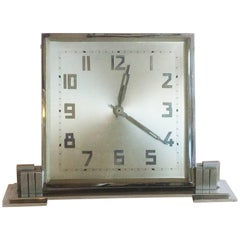 Art Deco Large German Desk Clock