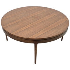 Ole Wanscher Rosewood Coffee Table for A.J. Iversen in 1957