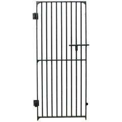 19th Century English Wrought Iron Security Gate