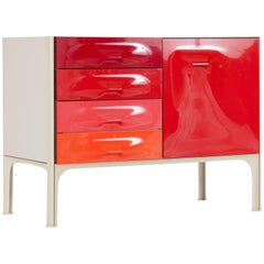 Midcentury DF-2000 Cabinet by Raymond Loewy for Doubinsky Frères, 1970s