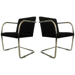Pair of Thonet Mies van der Rohe Brno Chairs