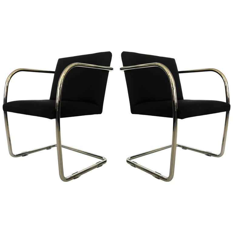 Pair of Thonet Mies van der Rohe Brno Chairs