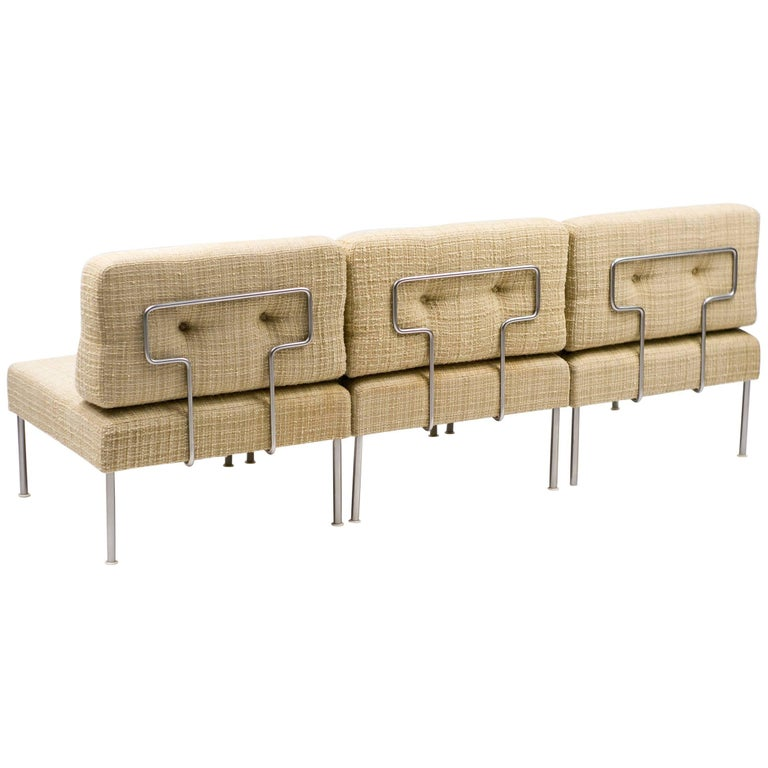 """Poul Cadovius Revolt Sectional Sofa for France & Son Featured in """"The Bridge"""""""