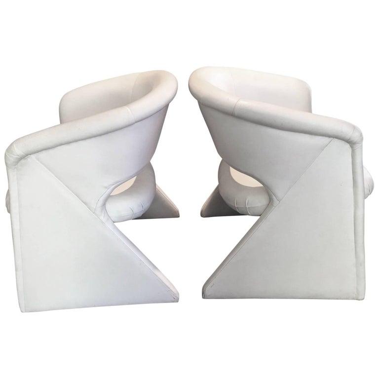 Milo Baughman for Thayer Coggin Side Chairs, Pair