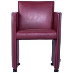 JORI Eternity Designer Chair Leather Red Modern