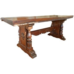 Dining Table Trestle Table