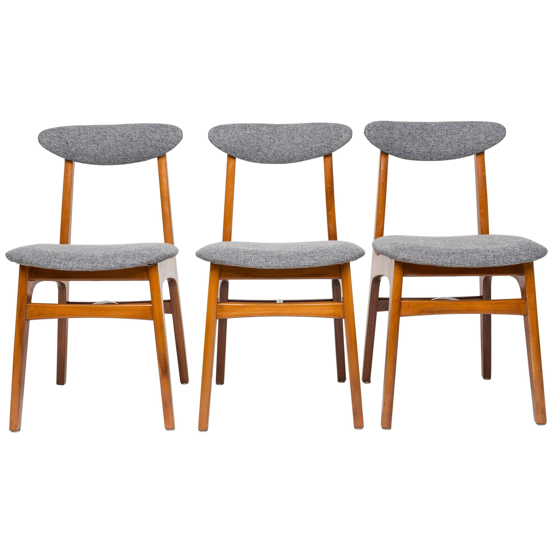 Set of Three 20th Century Chairs
