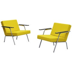 Martin Visser SZ02 Easy Chairs Pair 't Spectrum, 1964