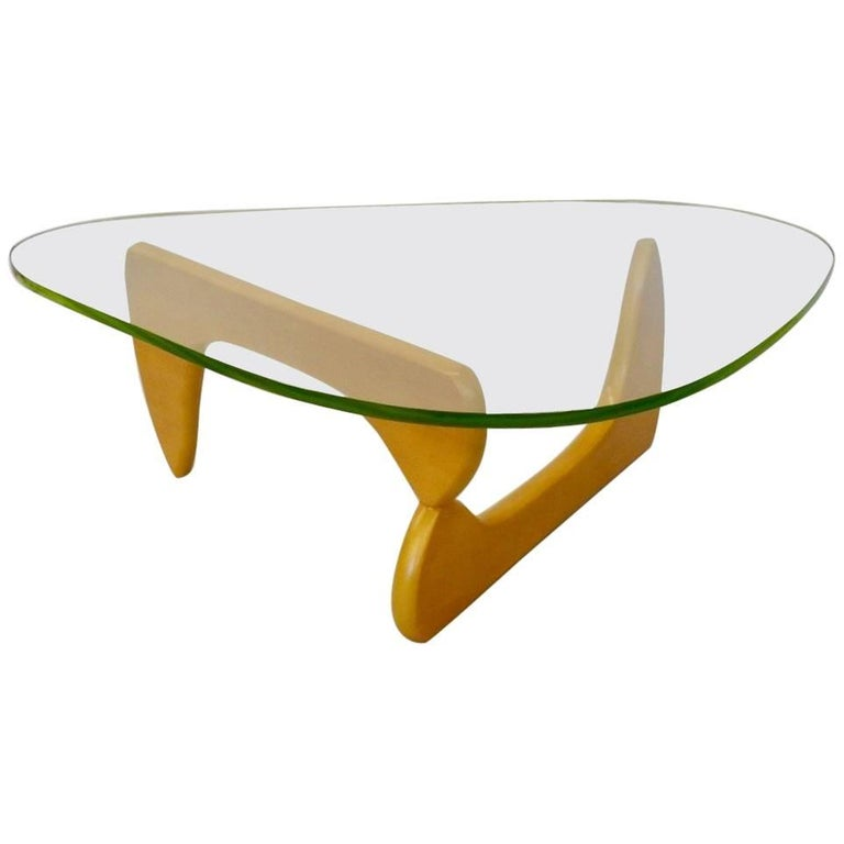 Isamu Noguchi Herman Miller Blonde Base in 50 Coffee Table