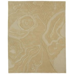 Angela Adams Nebula, Natural Area Rug, New Zealand Wool, Custom, Customizable