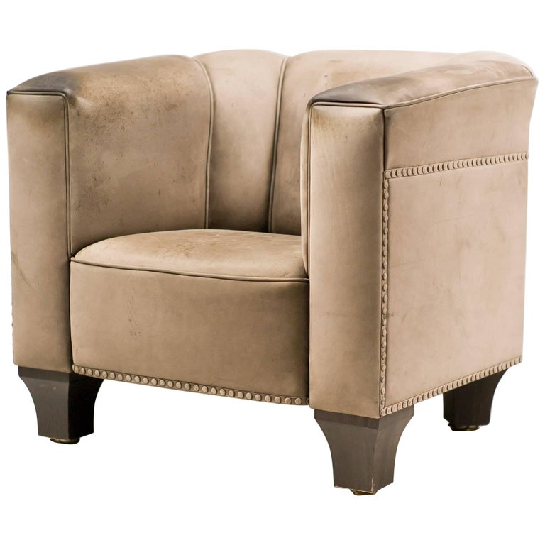 Josef Hoffmann Club Chair Model Palais Stoclet