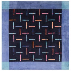 Square Modern Contemporary Ingrid Dessau Rug for Kinnasand