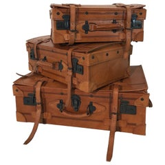 Vintage Suitcase Set