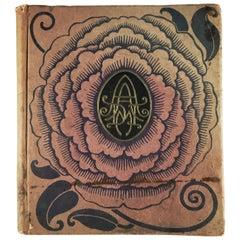 Rare Design Book, 1925 Decorative Arts Expo, Paris