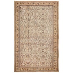 Antique Decorative Oversized Persian Sultanabad Rug