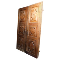 18th Century Walnut Double Door