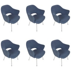 Saarinen for Knoll Executive Armchair, Set of Six