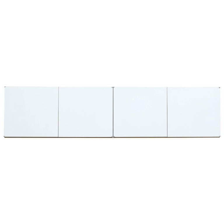 1960s Wall Mounted Sideboard Antoine Philippon & Jacqueline Lecoq, Bofinger 1961