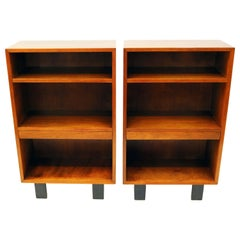 George Nelson Bookcase Nightstands for Herman Miller