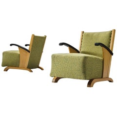 Pair of Finnish Lounge Chairs