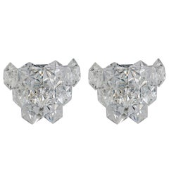 Pair of Kinkeldey Austrian Crystal Sconces