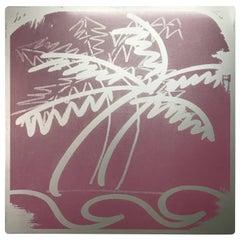 Al Rubin Palm on Aluminum, 2005