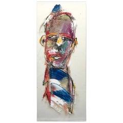 Scott Gruppé Figurative Expressionism Oil on Plexiglass