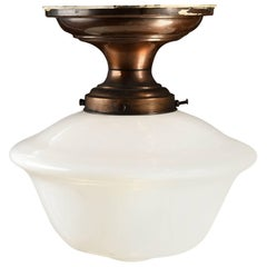 Small Schoolhouse Flush Mount, Quantity Available