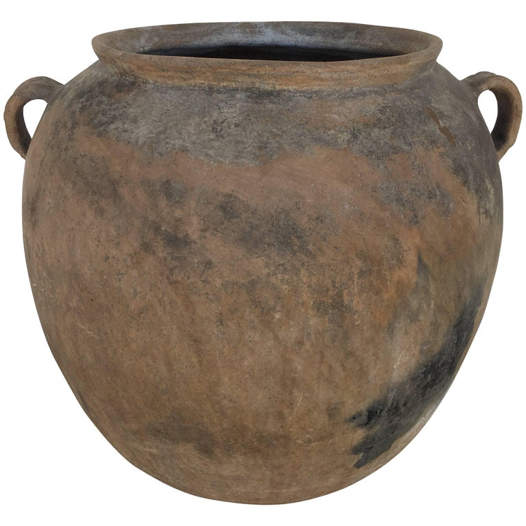 Terracotta Pot from Mexico For Sale