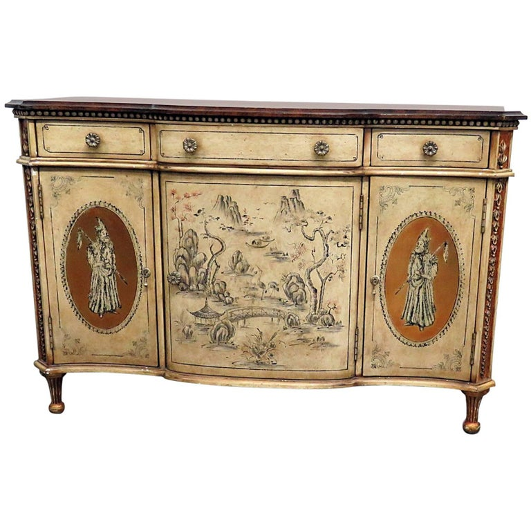 Monarch for Century Chinoiserie Chest of Drawers
