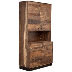 Claro Walnut Field Hutch