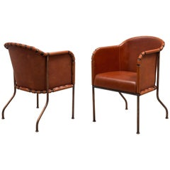 Mats Theselius 'Ambassad' Armchair for Källemo Sweden, Set of 4 Chairs