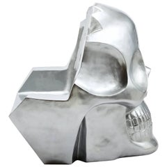 Contemporary Armchair Skull Transvital Mother by Antonio Cagianelli, Italy