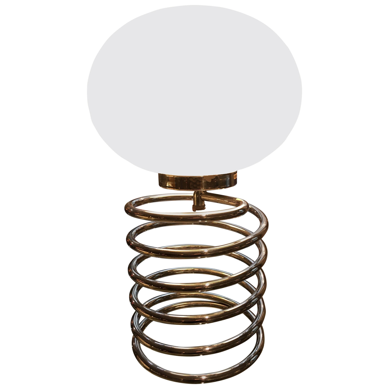 Large Ingo Maurer Spring Table Lamp