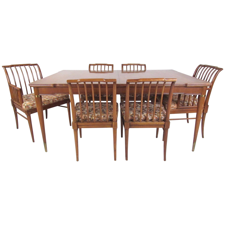 Mid-Century J. Stuart Clingman Dining Room Set for Widdicomb