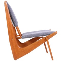 Mid-Century Bertil V. Behrman Easy Chair Model 233 for AB Engens Fabriker