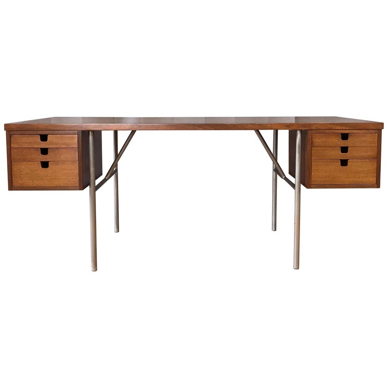 George Nelson for Herman Miller Midcentury Executive Desk