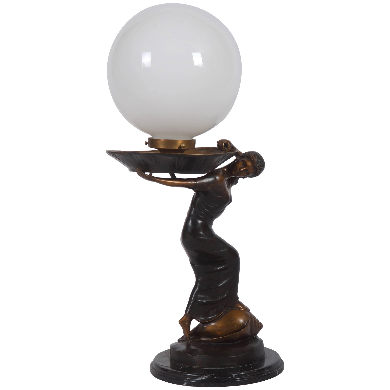 Huge Art Deco Table Lamp