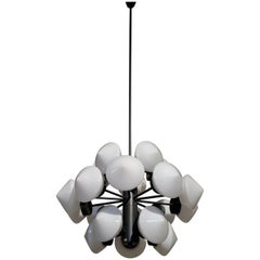 Large Swedish Chandelier, 1960s