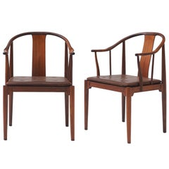 "Pair of ""China"" Chairs by Hans J Wegner"