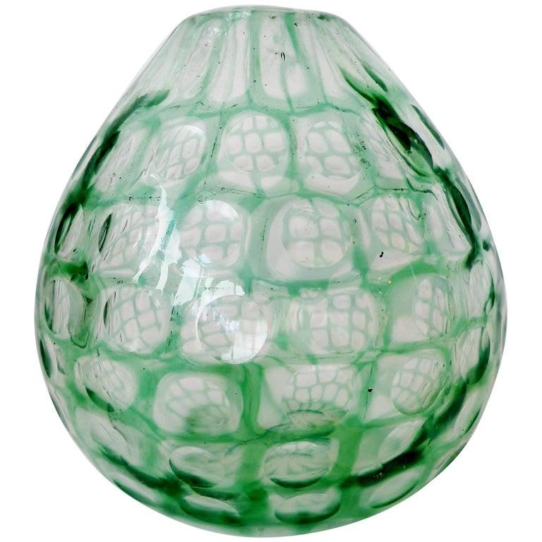 Tobia Scarpa Venini Occhi Bulbous Vase For Sale